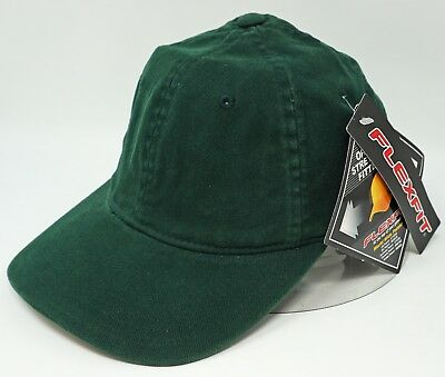 714aa56e65983 Green Flex Fit Cap Low Profile Unconstructed Dad Hat Curved Visor OSFM NWT