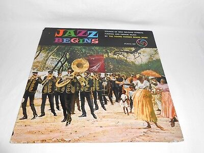 THE YOUNG TUXEDO BRASS BAND - JAZZ BEGINS - Vinyl LP - ATLANTIC RECORDS 1297