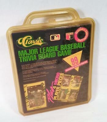 Vintage Classic Major League Baseball Trivia Board Game Unopened