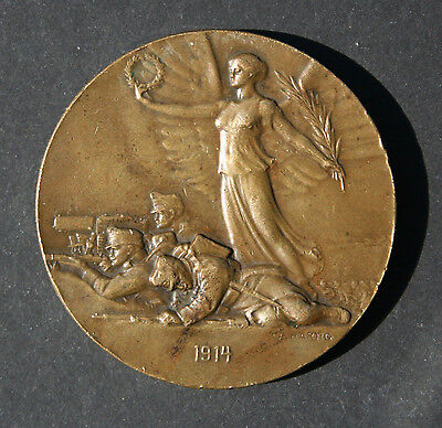 Franz Josef Medallion***winged Victory***rare In This Condition