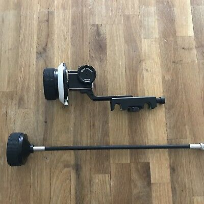Lanparte Follow Focus w/ AB Hard Stops 15mm Rods INCLUDES: Lanparte Focus Whip