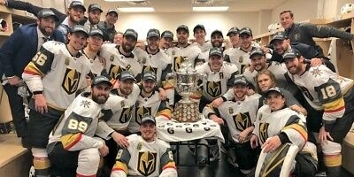 """Vegas Gold Knights Team Poster 2018 Stanley Cup Hockey Print 13x20"""" 24x36"""" #4"""
