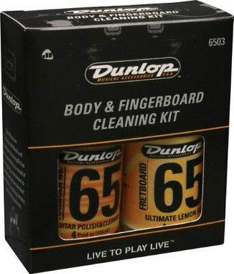 NEW Dunlop 6503 Formula 65 Body and Fingerboard Cleaning Kit FREE SHIPPING