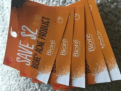 5 x Save $2 off any Biore acne product skin care coupons