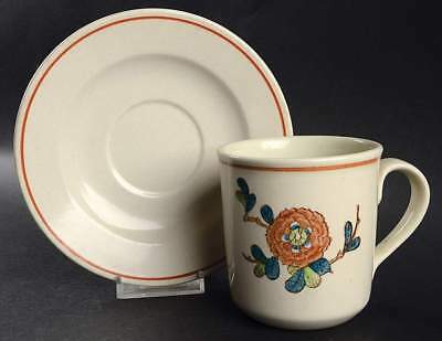 Metlox Poppytrail Vernonware OLD CATHAY Cup & Saucer 356714