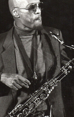 Unknown Canadian Jazz Saxophonist Vintage Press Photo From Expo'92 Press Dossier