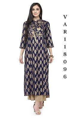 Indian Bollywood Kurta Kurti Women Ethnic Top Tunic Pakistani Shirt Tops Blouse