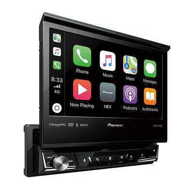 "Pioneer AVH-3400NEX 1 DIN DVD/CD/MP3 Player 7"" Flip Up Bluetooth Mirror Phone"