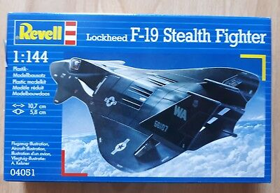 Lockheed F-19 Stealth Fighter, Revell, 1/144