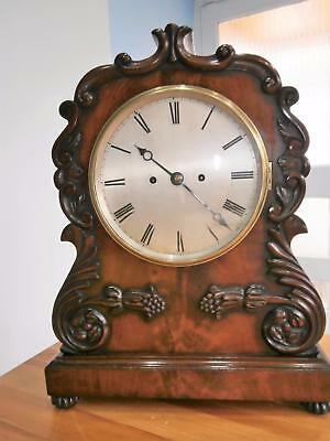 London Fully Restored Mahogany Double Fusee Bracket Clock G.W.O.
