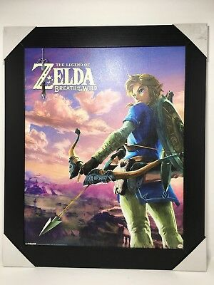 The Legend Of Zelda Breath Of The Wild Framed Textured Wall Art Pyramid America