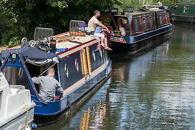 Canal Boat Barge Narrowboat Houseboat Norfolk Holiday Broads Fishing Rod & Reel