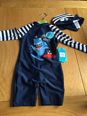 Baby Boy Swimming Costume 9 12 Months 290 Picclick Uk