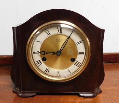 bakelite ting tang mantel clock by smiths enfield