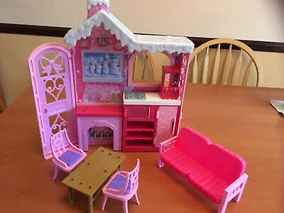 Barbie life in the dream house Cozy Cabin