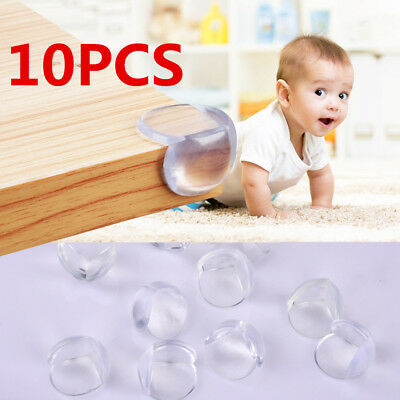 10Pcs Child Baby Safe Good silicone Protector Table Corner Edge Protection Cover