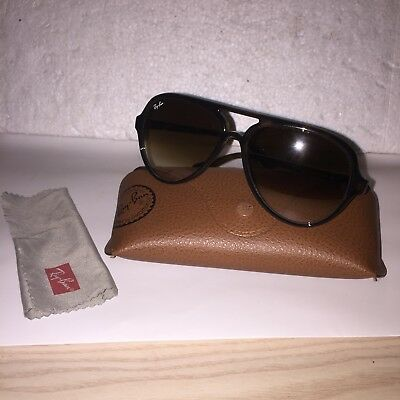 2cbbd1c36b Ray Ban Men Sunglasses RB 4125 Cats 5000 710 51 2N Brown Glass VGC