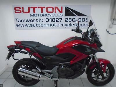 Honda Nc750x 15 Plate Only 1600 Miles Givi Panniers 499500
