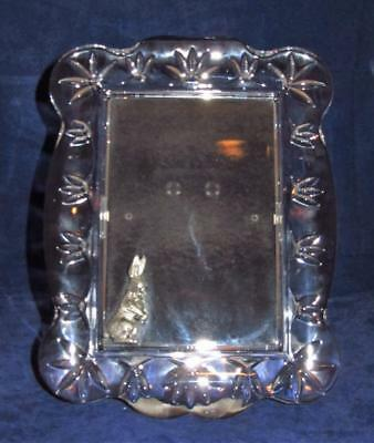 "Waterford Crystal Velveteen Rabbit Pewter Peter Picture Frame for 4"" x 6"" Photo"