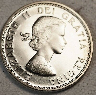 1964 Canadian Silver Dollar,  Choice Condition  See Pictures