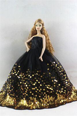 Fashion Princess Party Dress/Evening Clothes/Gown For Barbie Doll p66