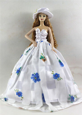 Fashion Princess Party Dress/Evening Clothes/Gown For Barbie Doll p69