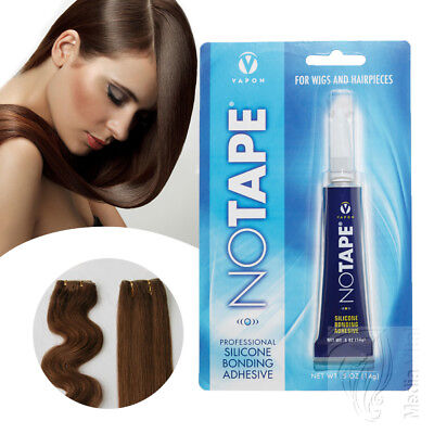 Notape Silikon Skin Weft Tressen Kleber | Tape On Extensions Kleber Tube 15ml