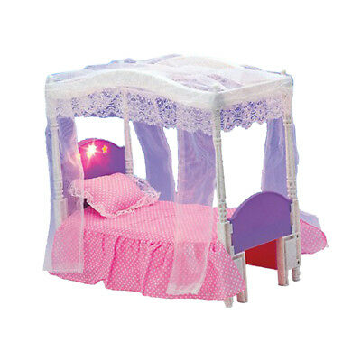 1/6 Doll House Furniture Accessory Bedroom Bed Play Set for Doll Toy