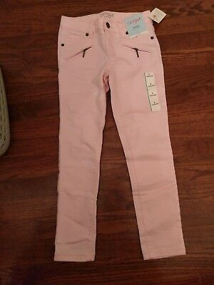 Cat and Jack Little Girl's Size 7, Pink Pants/Jeans NWT
