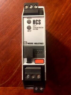 *New* Moore Industries Hart Concentrator Module HCS/HART/MB485/9-30DC-RF[DIN]