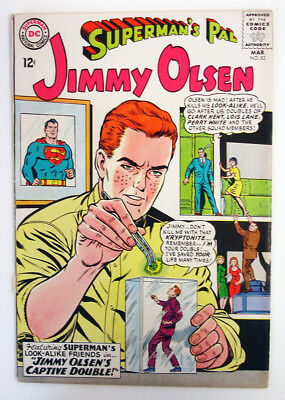 Superman's Pal Jimmy Olsen #83 1965 Silver Age DC Comic Swan -c/art Forte -a
