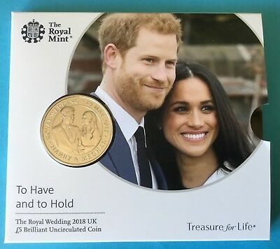 The Royal Wedding 2018   Uk Brillliant Uncirculated Coin Australia-Uk Friendship