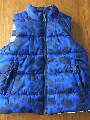 Seed Heritage Boys Reversible Puffer Vest Size 3-4