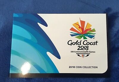 Coins Gold Coast 2018 Commonwealth Games Coins Australia 7 Coins In Folder