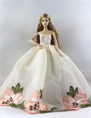 Fashion Princess Party Dress/Evening Clothes/Gown For Barbie Doll p71