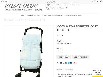 Tuctuc Cosy Winter Footmuff for pram