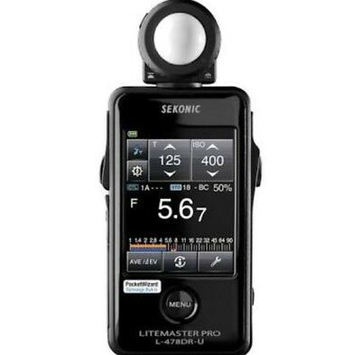Sekonic L-478DR LiteMaster Pro Light Meter L478DR ~ Brand NEW CE Version