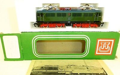 242 018 2 Electric Locomotive Green 1:120 TT Original Box Manual BTTB 2321 Mint
