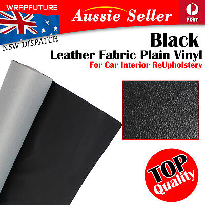 Heavy Duty Leather Leathertter Cloth Black Upholstery Vinyl Fabric Auto Boat OZ