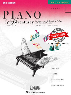 Piano Adventures Theory Book Level 1 2Nd Edition - Randall Faber, Nancy Faber