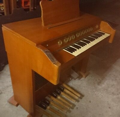1960's Vintage Stromberg Carlson Valve Organ, Timber cabinet, Voicings & footage