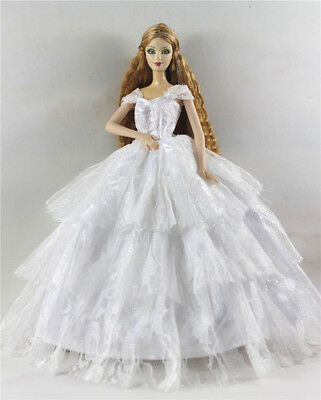 Fashion Princess Party Dress/Evening Clothes/Gown For Barbie Doll p76