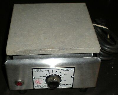 Thermolyne Type 1900 Hot Plate 374B  750 watts  FREE SHIPPING!!