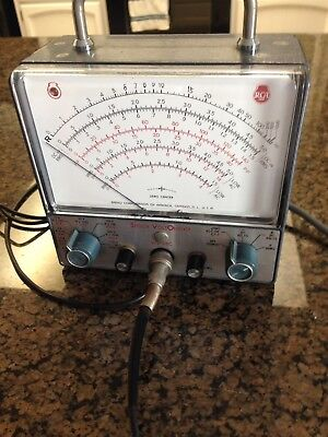 Vintage RCA WV-98C Senior Volt Ohmyst Seems To Power On And Work
