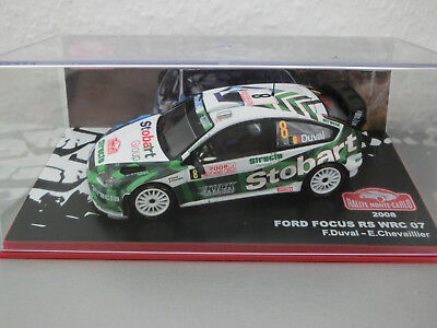 1:43 Ford Focus RS 07 WRC No. 8 Rally Monte Carlo 2008 - Francois Duval