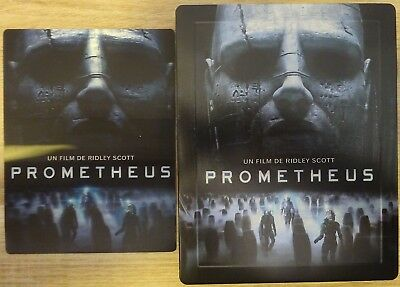 BLU RAY 3D 2D DVD STEELBOOK PROMETHEUS Ridley Scott origines d'Alien no covenant