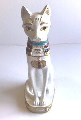 New Egyptian Bastet Cat Statue Ancient Egypt Goddess Collectible Figure 7.8 inch