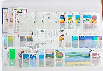 Germany Complete Year 1994 Stamp Set + Souvenir Sheet Singles MNH German Stamps