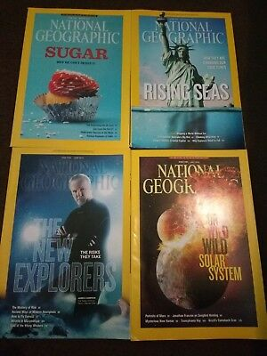 National Geographic Magazines June 2013 - September 2013
