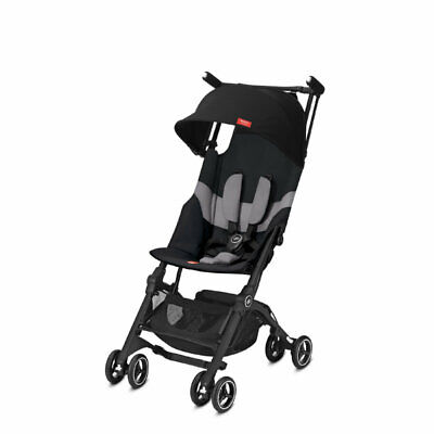 Poussette Pockit + All Terrain Velvet Black de GoodBaby 20019